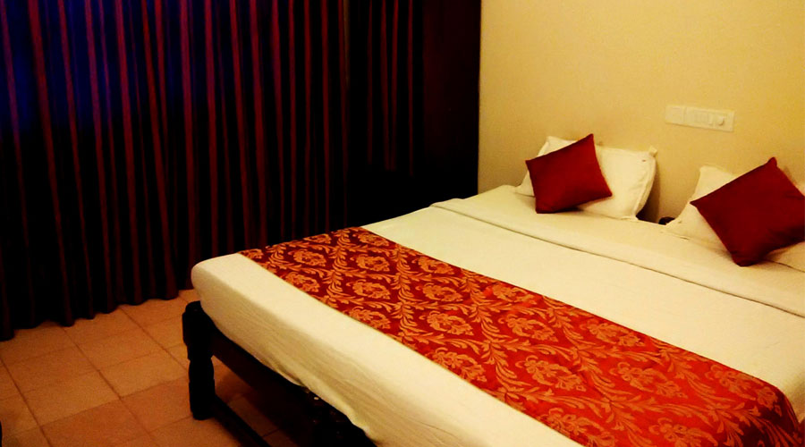 Air Conditioned (twin sharing), RUFFLES BEACH RESORT - Budget Hotels in Goa